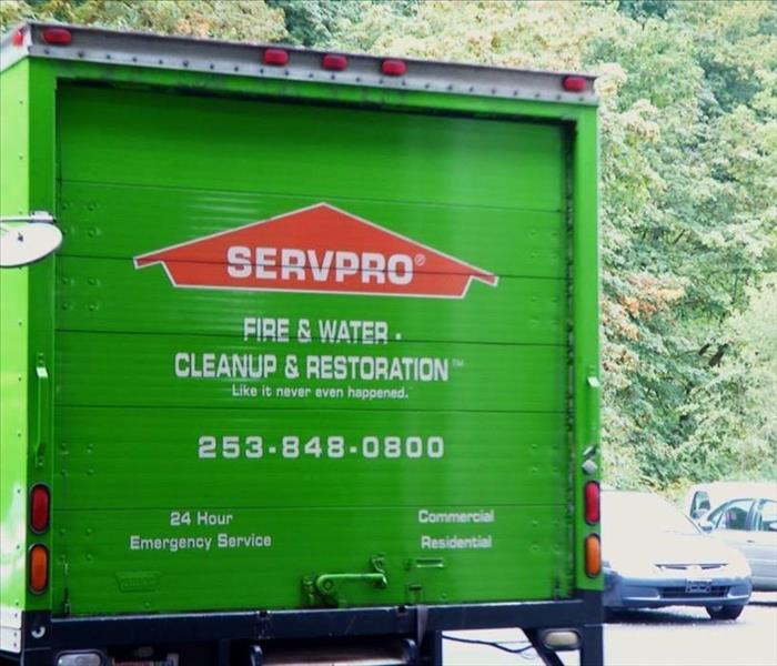 SERVPRO of Lacey Truck