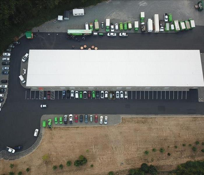 Lacey Office & Warehouse from Above