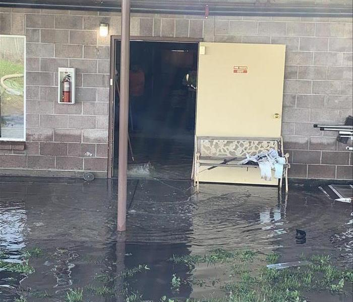 My business flooded, who do I call?