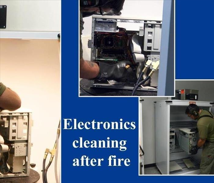 SERVPRO of Lacey Fire Damage Electronic Cleaning